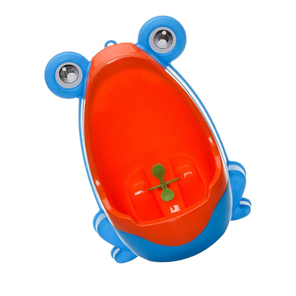 Klein Kind Junge Kind Toilette Frosch Töpfchen Urinal Aufstehen Pee Training - blau Generic STK0153010070