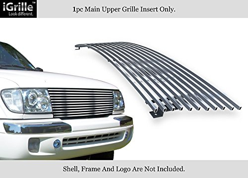 - APS Compatible with 1998-2000 Toyota Tacoma Stainless Steel Chrome Billet Grille Grill Insert T85463S