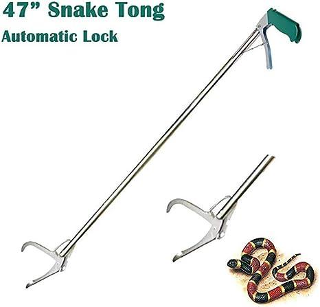 Tenazas Profesionales Reptile Grabber Stick Outdoor Adventure Handling Tool Trash Picker Serpientes de Serpiente de Cascabel AIDO Snake Catcher