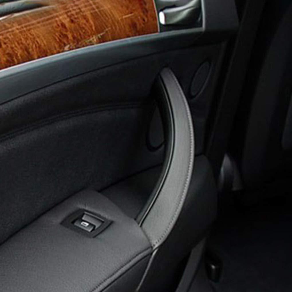 E71 Yangge Yujum ABS Voiture en Plastique Porte int/érieure Poign/ée c/ôt/é Gauche 51416969401 Remplacement pour BMW X5 X6 E70 la p/ériode 2007-2013