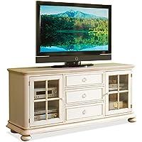 TV Cabinet in Honeysuckle White Finish