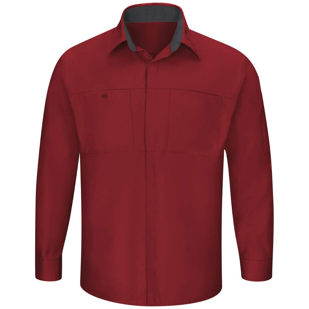 Fireball rouge With Charcoal engrener M rouge Kap Homme Chemise