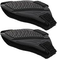 Wakauto 2 peças à prova d'água protetor de sapato capa de borracha para andar de motocic