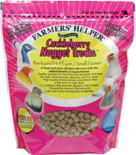 (Bird Products/Food Cackleberry Nugget Treat, 1.68 Lbs (27Oz), Small)
