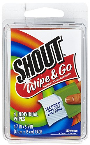 Shout Stain Remover Wipes Travel