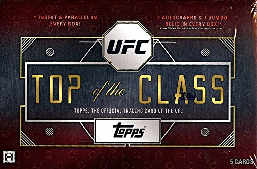 2016 Topps UFC Top Of The Class Hobby Box (Factory