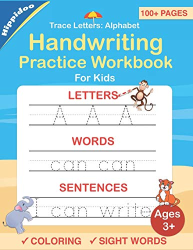 Trace-Letters-Alphabet-Handwriting-Practice-workbook-for-kids-Preschool-writing-Workbook-with-Sight-words-for-Pre-K-Kindergarten-and-Kids-Ages-3-5-ABC-print-handwriting-bookPaperback--August-15-2019