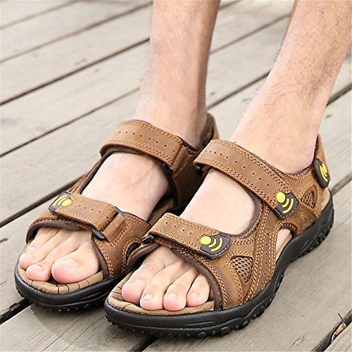 Stick Scarpe Wagsiyi 27 Traspiranti 0 Sports pantofole 24 Shoe da Magic Marrone 0 spiaggia Verdi CM Beach Men's Sandali Sandal Outdoor wYBwT