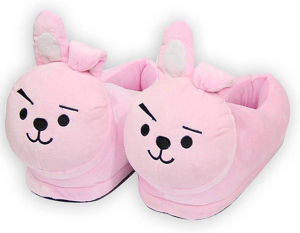 Chaussons dhiver chauds pour gar/çons et filles AMA-StarUK36 Kpop BTS Bangtan Boys