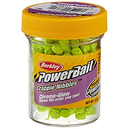 Berkley Powerbait Crappie Nibbles Dough Bait Glow