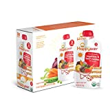 Happy Baby Organic Stage 3 Baby Food, Hearty Meals, Vegetables & Beef Medley with Quinoa, 4 oz (Pack of 16)