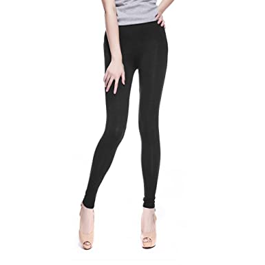 a33fe7b7c5b Greenery Womens Thick Warm Leggings Ladies Fleece Lined Long Winter Leggins  Full Length Leggings Trouser Pants Stretch Leggings Jeggings Tights Plus  Size  ...