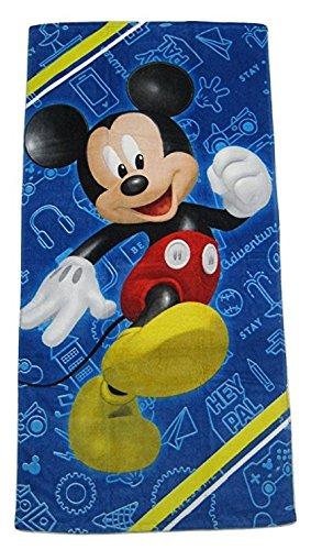 Disney Mickey Mouse Beach Towel Sling Bag Beach Ball Goggles Swim Ring Swimming Pool Bundle by Disney (Image #3)