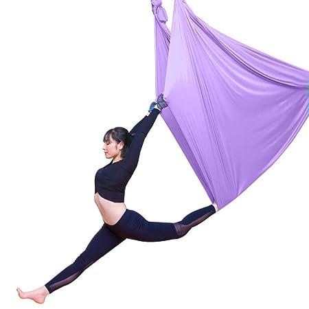 LWKBE Aerial Yoga Hammock - Juego de Columpios de Yoga de ...