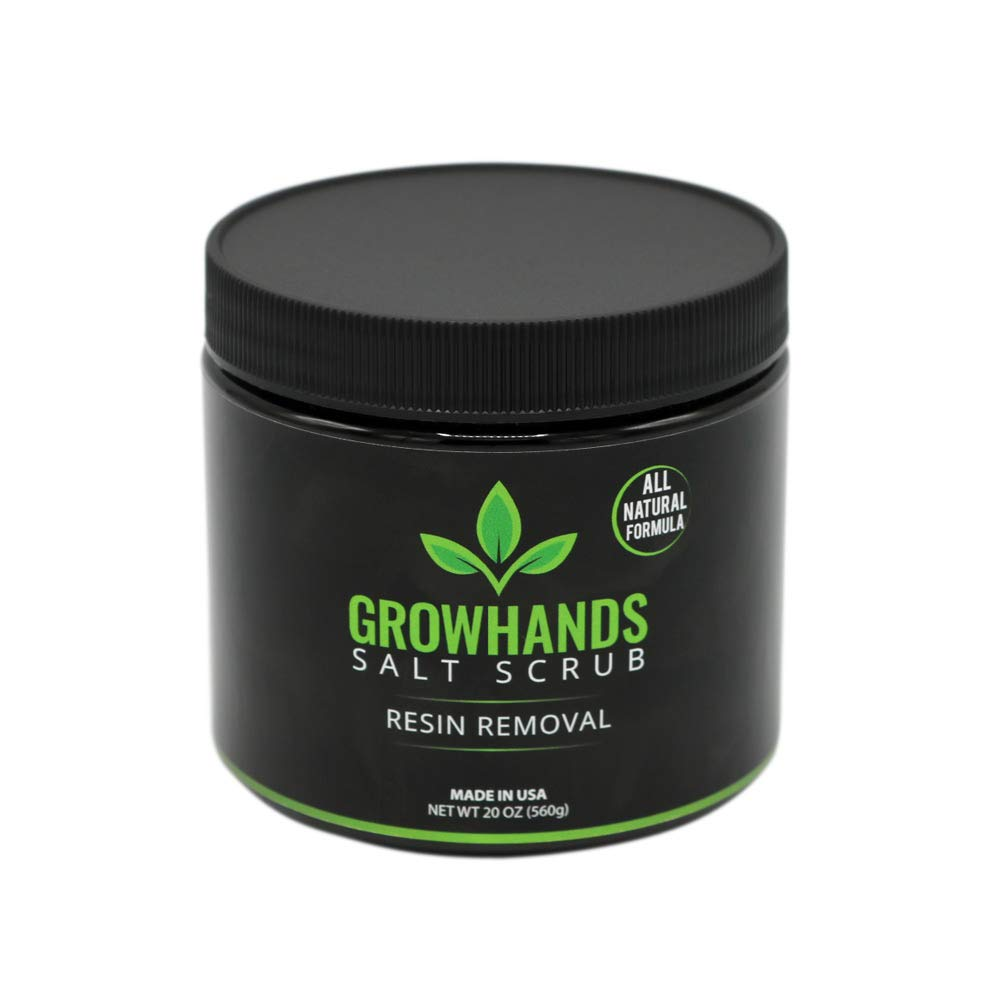 GrowHands Salt Scrub and Resin Removal (20 ounces)