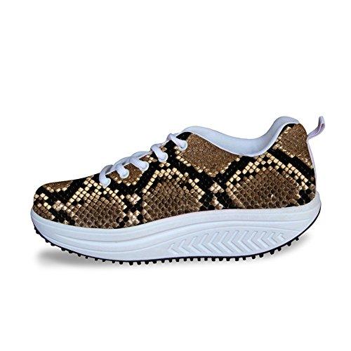 Léopard Fitness Chaussures De Marche Confortable Coin Chaussures De Tennis Femmes En Plein Air Voyage Modèle De Chaussures 6