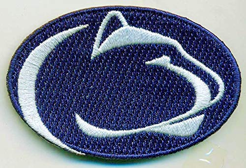 PENN STATE NITTANY LIONS IRON ON EMBROIDERED EMBROIDERY PATCH PATCHES SCHOOL OF UNIVERSITY STATE COLLEGE NCAA FOOTBALL SPORTS