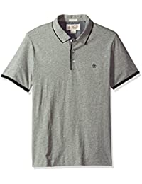 Men's Heathered Mearl Polo
