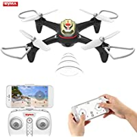 OCDAY SYMA X15W 2.4DHz 4CH 6Axis Gyro Quadcopter with HD Camera (Gold)