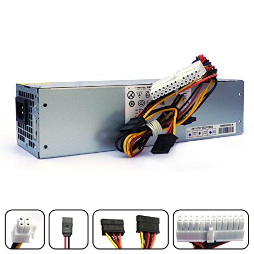 POINWER H240AS-01 2TXYM 3WN11 H240AS-00 709MT 240W Optiplex 7010 SFF Power Supply for Dell Optiplex 390 790 990 3010 9010 Small Form Factor Systems CCCVC 3RK5T F79TD L240AS-00 H240ES-00 D240ES-00 (Optiplex 790 Power Supply)