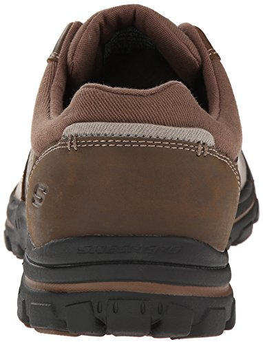 Skechers Braver Alfano, Sneakers da Uomo Marrone (Brown (Acdb - Brown))