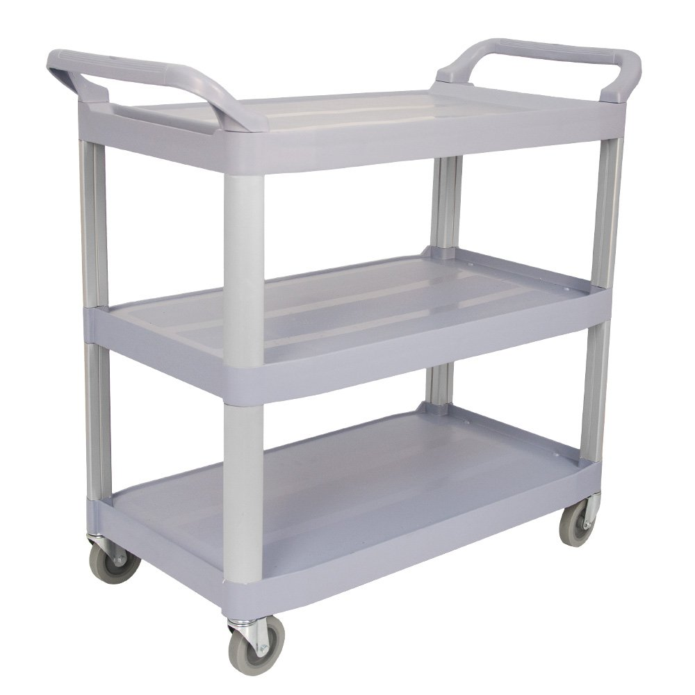 Viva Brite Large Grey Utility Trolley 12282333
