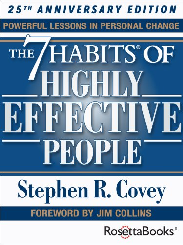 The 7 Habits of Highly Effective People: Powerful Lessons in Personal Change Book Cover
