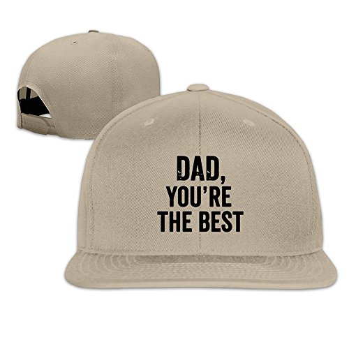 maneg-dad-you-are-the-best-unisex-fashion-cool-adjustable-snapback-baseball-cap-hat-one-size-natural