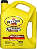 Pennzoil 550022731 Premium Outboard and Multipurpose 2-Cycle Motor Oil (TC-W3) - 1 Gallon
