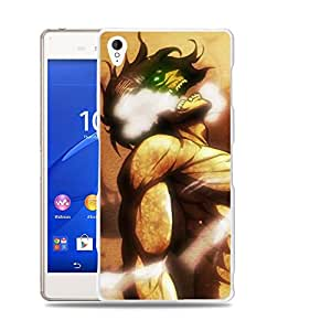Case88 Designs Attack on Titans Elen Yeager Protective Snap-on Hard Back Case Cover for Sony Xperia Z3