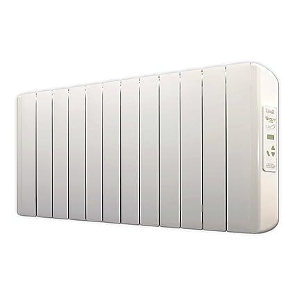 farho Eco X - Radiador Eléctrico de bajo Consumo 1500 W Digital Programable - Emisor Térmico