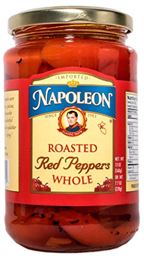 Napoleon Whole Roasted Red Peppers, 12 Ounce (Pack of - Pepper Red Bell Roast