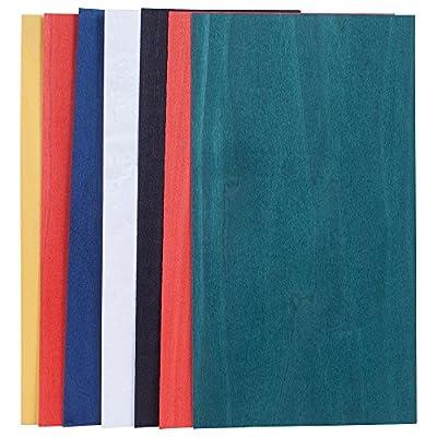 Dyed Base Color Assortment, 3 Sq. Ft. Veneer Pack