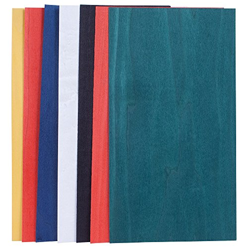 Dyed Base Color Assortment, 3 Sq. Ft. Veneer Pack