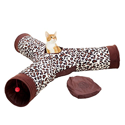 Cat Tunnel Toy Collapsible Entertainment