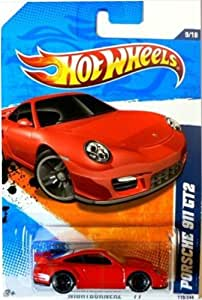 hot wheels porsche 911 gt2 119 red nightburnerz 2011 toys games. Black Bedroom Furniture Sets. Home Design Ideas