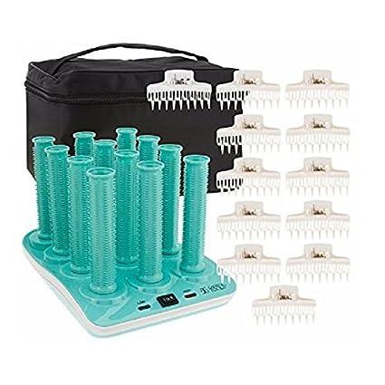 Amazon Com Calista Long Style Set Hot Waver Heated Hair Rollers Premium Beauty