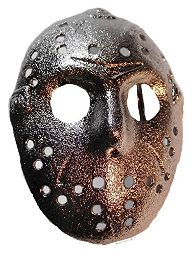 Friday the 13th Movie JASON MASK Silvertone Metal BELT BUCKLE (Jason Voorhees Clothes)