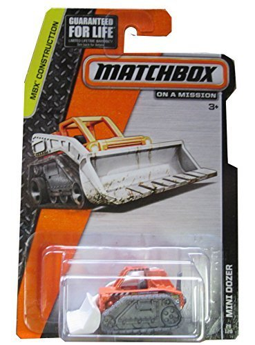Matchbox MBX Bau 28 120 Orange Orange Orange Mini Dozer by Matchbox ec3597