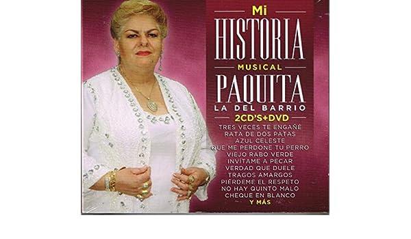 Paquita La del Barrio - Paquita La del Barrio (2CDs+DVD Musart-Sony-889854345624) - Amazon.com Music