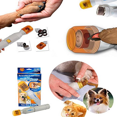 Amazon.com : Pet Dog Perros Chien Electric Grinding wheel Dogs And Cats Clean Beauty Electric Scissors Pets claws grinding manicure scissors : Pet Supplies
