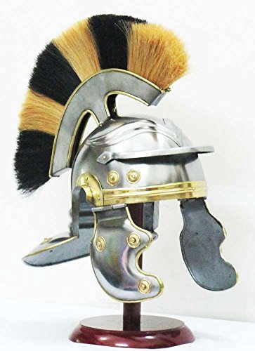 定番 Medieval Roman Enterprises by Knight Armor Shakti Helmet Roman Centurion Officer Helmet with multi-color Plume by Shiv Shakti Enterprises [並行輸入品] B01AL2HY0K, SC1:8cada2a0 --- a0267596.xsph.ru