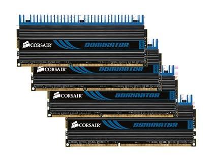 Corsair CMD8GX3M4A1600C8 Dominator 8 GB 4 x 2 GB PC3-12800 1600MHz 240-Pin  DDR3 Core i7 and Core i5 Memory Kit