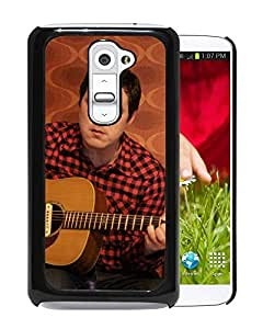 Beautiful Designed Cover Case With Damien Jurado Guitar Shirt Face Wallpaper For LG G2 Phone Case