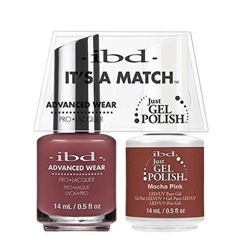 ibd Advanced Wear Color Duo Mocha Pink #502 UV Gel Color