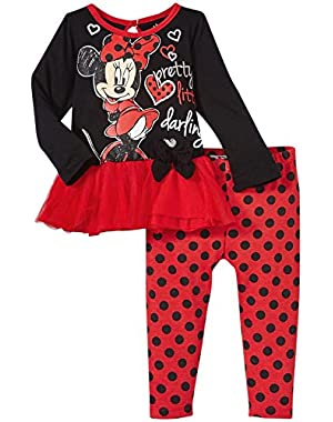 Baby Girls' Minnie Tulle Legging Set (Baby)