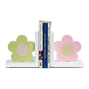 MLMHLMR Creativo Sujetalibros para la Familia Cute Jewelry Bedroom Desk Book by Childrens Room Estantería 21x10x16cm