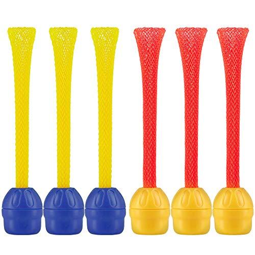 6 Magnetic Darts - Doinkit Darts- Refills (Pack 6- 3 Each of 2 Colors)