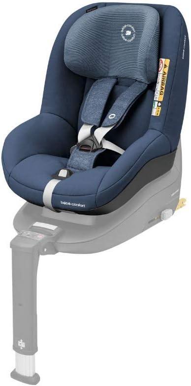 Bébé Confort PEARL SMART i-Size 'Nomad Blue' - Silla de coche para niñoscompatible con la base FamilyFix One, a contramarcha y en sentido de la marcha, 6 meses-4 años, 9-18 kg, 67-105 cm, azul