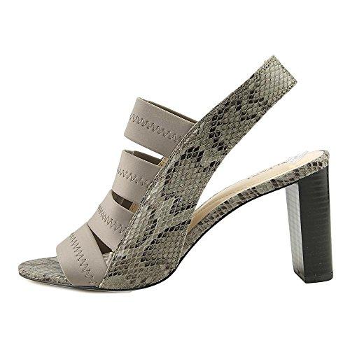 Alfani Womens RENNATAH Leather Open Toe Casual Strappy Sandals Stormy Grey QTpXszEdFW